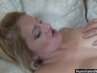 HumiliatedMilfs - Mature Lindsay goes wild over young stud's