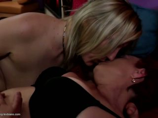 Grandma Fucks Mother and Young Daughter, Porn c4