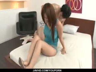 Konatsu Aozona Enjoys Cock in Her Hairy Asian Cunt