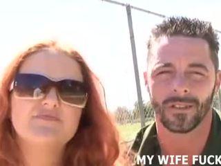 Παρακολουθείστε σας σύζυγος τσιμπουκώνοντας ένα stranger's τεράστιος καβλί