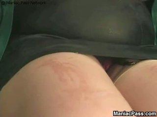 groß, titten, brünette
