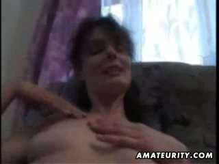 real brunette, most oral sex, housewives video