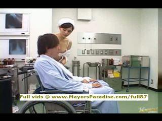 plezier verpleegkundigen scène, nieuw uniform neuken, verpleegster