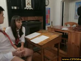 Femdom Teacher And Student Strip Guy
