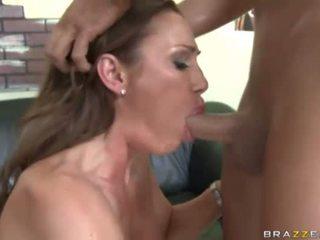 Naughty porn Milf Sky Taylor analyzed and facialed