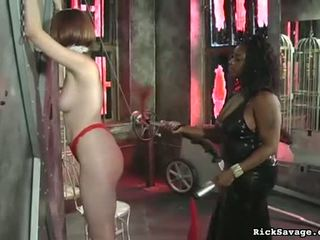 Ropes leave her vulnerable