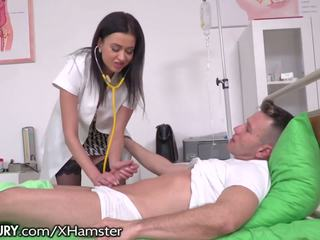21sextury Russian Nurse Dp'd by 2 Hung Paitents: HD Porn 09