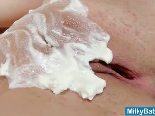 nice whipped new, all messy all, most babes watch