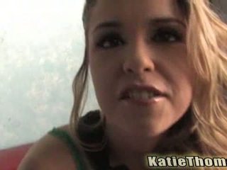 Katie thomas converted 成 黑色 公鸡 懒妇