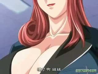 Μεγάλος busted hentai κορίτσι του σχολείου Καυτά tittyfucking και
