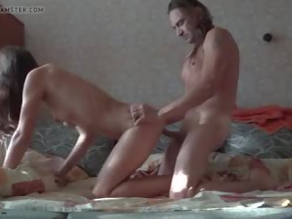 With a Sensual Girlfriend, Free Amateur Porn 50