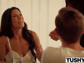 ideaal brunette, kijken orale seks klem, anale sex film