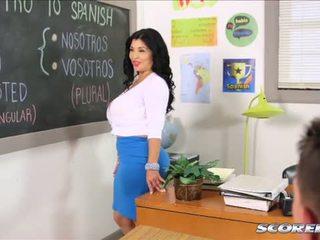 ที่ นมโต lusty คนเสปน คุณครู