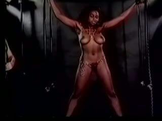 Classic harem girl whipping