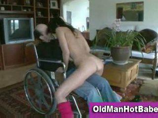 old mov, most oldguy vid, great brunettes video