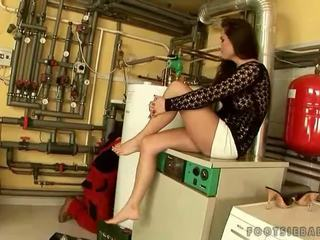 foot fetish, real pornstar clip, most sexy legs porn