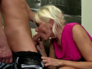 Hungry Mother Seduced by Lucky Young Son, Porn 6a