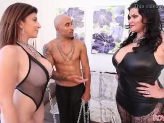 "King Noire and Angelina Castro Dominate Sara Jay BBW THREESOME <span class=""duration"">- 2 min</span>"