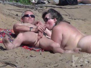 meer zuigen, voyeur porno, hq strand scène