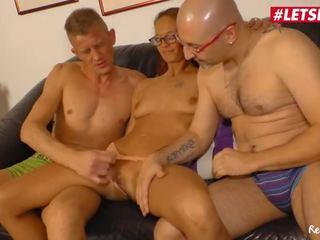 Du porno européenn en trio