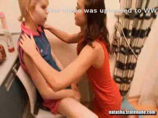 Natasha gets alice naked