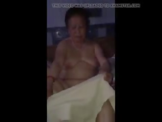 Chinese Granny Nude: Saggy Tits Porn Video 49