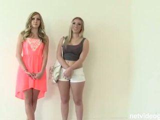 Threesome Teen Casting (HUU)