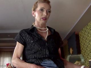 Skinny Mature Mom gets Anal Sex and Drinks Pee: HD Porn 44