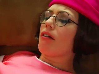 kwaliteit brunette, zien orale seks, deepthroat film