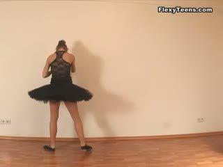 controleren flexibele, groot stretching kanaal, ballerina gepost