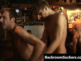 Gay Bareback Sex Goes Down