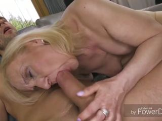 all guy action, cum in mouth fuck, granny