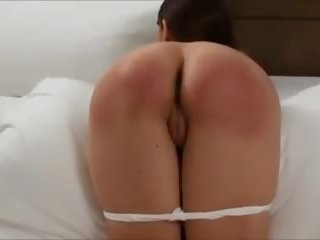 Young Girl Paddled and Strapped Hard, HD Porn 46