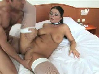 Christina jolie getting a sunkus analinis nuo sunkus bybis guy