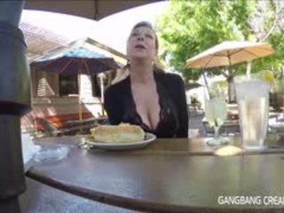 rated group sex, big boobs, most granny