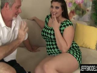 full brunette, chubby, real doggystyle porno