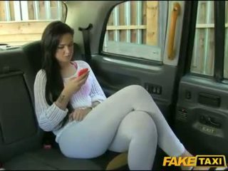 Perky tits chick drilled in the backseat