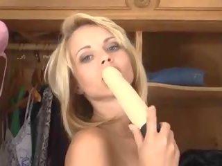 groot blondjes tube, u seksspeeltjes, ideaal toying vid