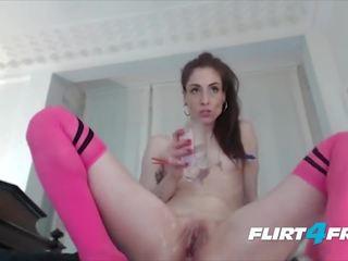 groot brunette porno, speelgoed video-, ideaal webcam klem