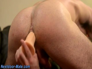 Muscled jocks sperm solo