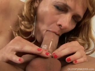 Super cute busty mature babe is a very hot fuck