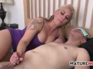 Mother Giving Her Son In Law A Handjob