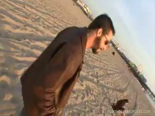 groot brunette, latijn klem, hardcore video-