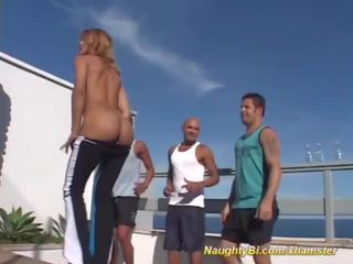 Naughty Bisex Aerobic, Free Big Cock Porn 49