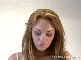 Paige Ashley Strips and Masturbates to a Pussy Clenching Orgasm