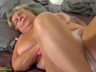 toys tube, big boobs action, granny