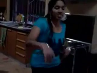 Hot Southindian Girl Dancing For Tamil Song And Ex