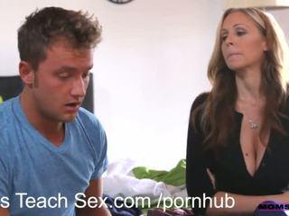 голям пенис, 3some, creampie, мама