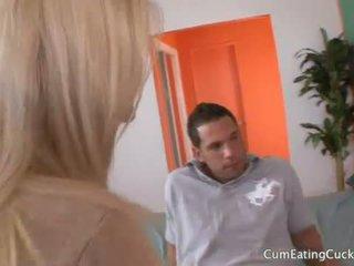 Kimmy のmake 彼女の 夫 見る と 吸う ディック