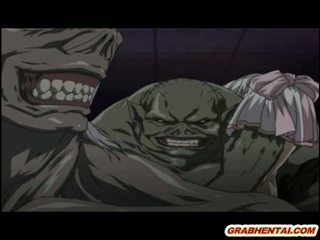 Hardcore Cartoon Monster Fuck